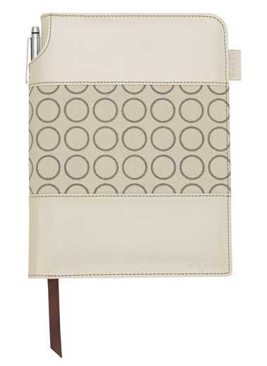 Ac248-31S Signature Small Defter Forever Pearl Beyaz - Çizgili-Cross